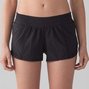 Lululemon Black Hotty Hot Shorts Size 6